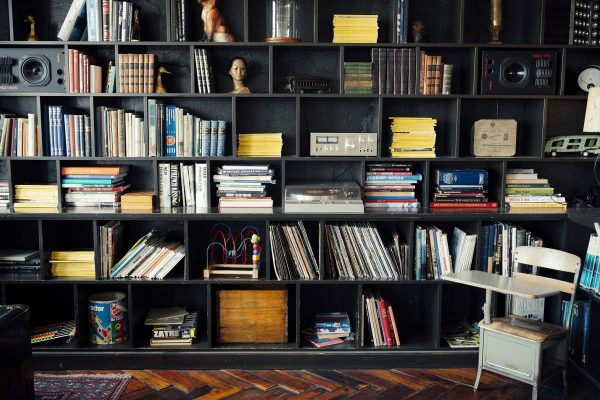 Tips for creating a decent home library